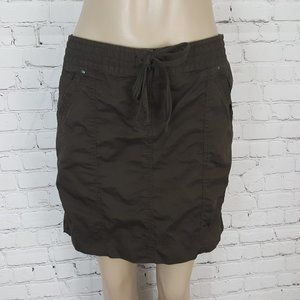 ANN TAYLOR LOFT Brown Cotton Mini skirt 4